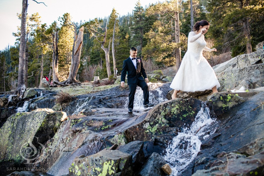 Brooke Cory Tahoe Elopement Emerald Bay Wedding